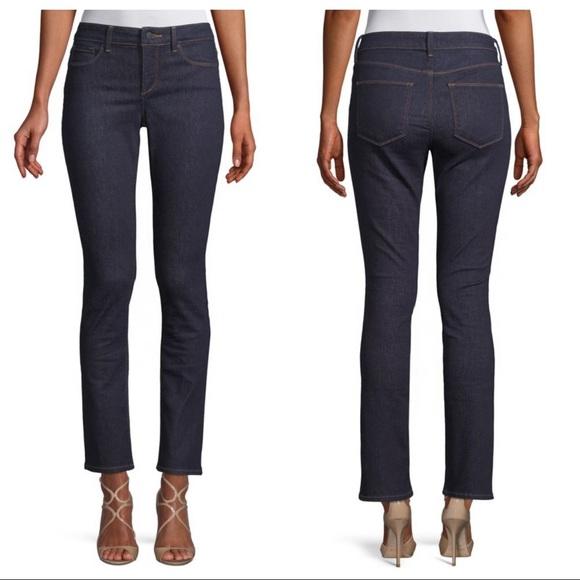 NYDJ Denim - NYDJ Parker Slim Fit Ankle Jeans Dark Wash 12